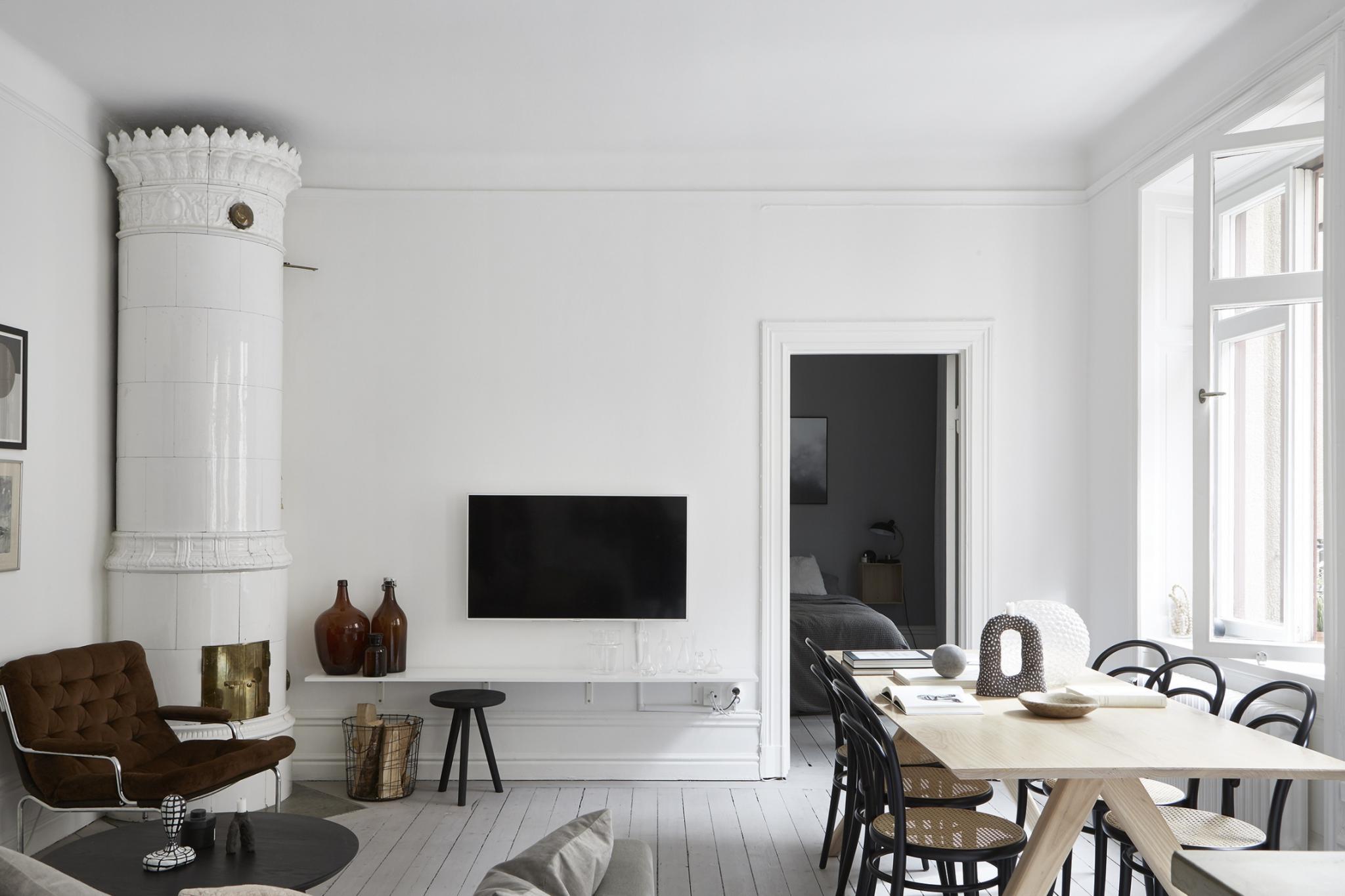 slaapkamer met een kalme natuurlijke neutrale kleurenpalet