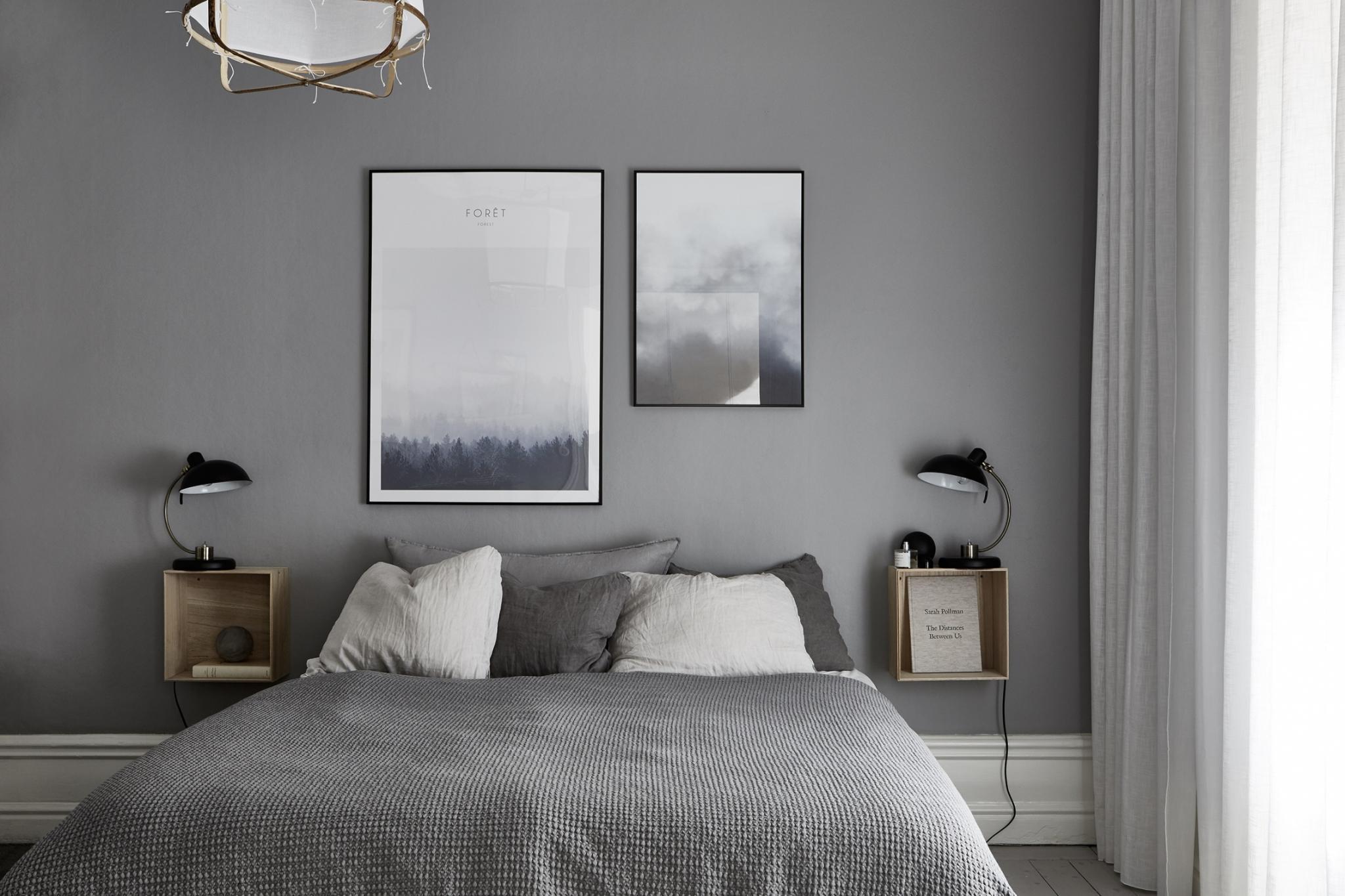 10x Nachtkastje Slaapkamer : Slaapkamer met een kalme natuurlijke neutrale kleurenpalet