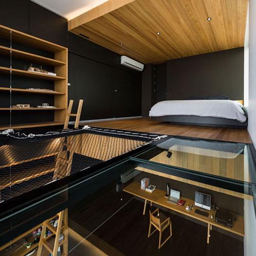 Slaapkamer met ideale loungeplek