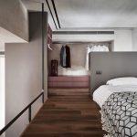 Slaapkamer mét inloopkast in een klein appartement van 40m2!