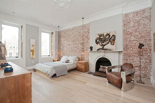 Slaapkamer met interieur mix