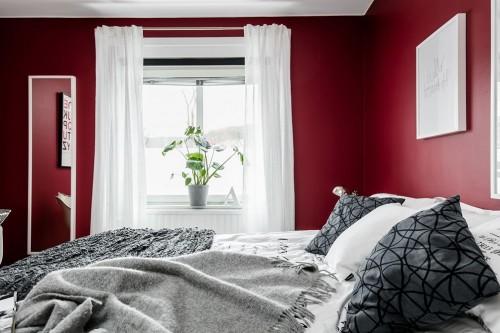 rode slaapkamer ideeen  consenza for ., Meubels Ideeën