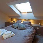 Slaapkamer met taupe tinten