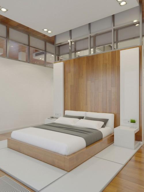 slaapkamer ontwerp door anton medvedev | slaapkamer ideeën, Deco ideeën