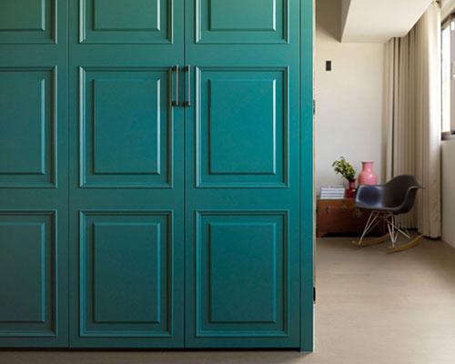 Slaapkamer Ideeen Turquoise : Slaapkamer ontwerp door Ganna studio ...