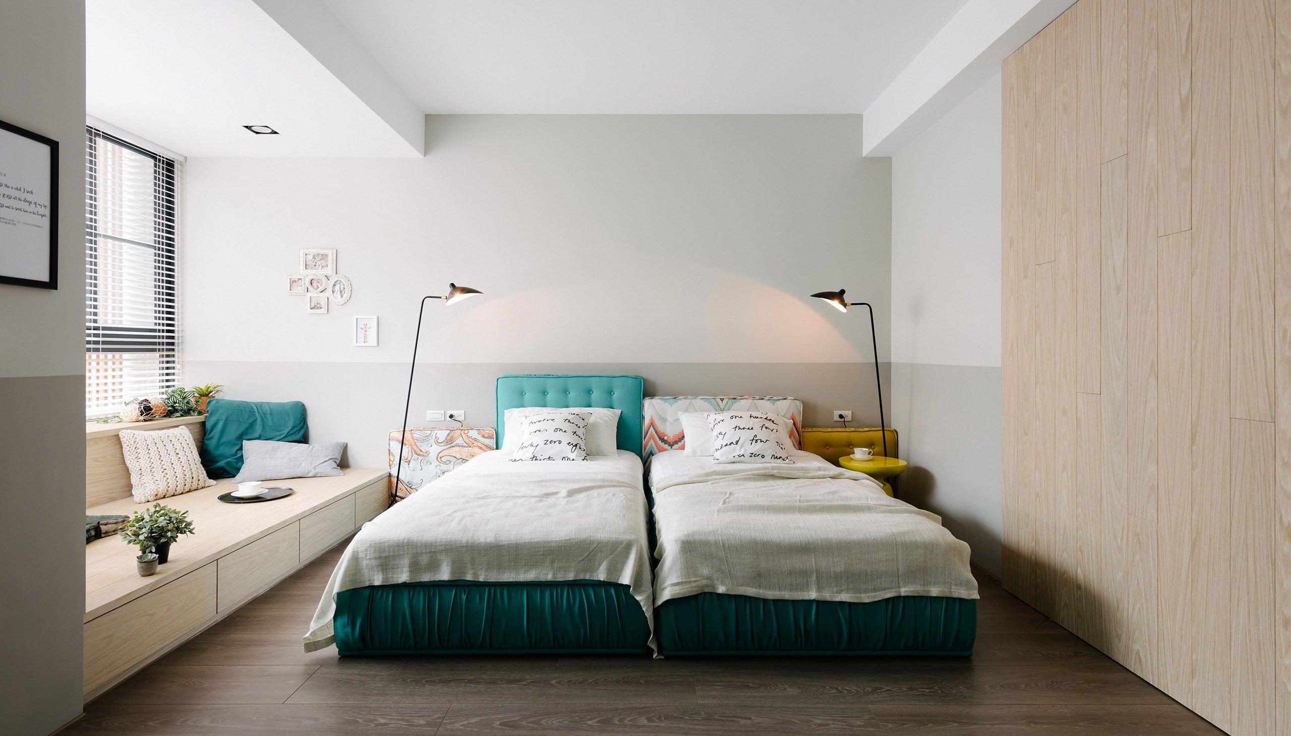 Slaapkamer ontwerp met loungehoek en werkplek slaapkamer idee n - Ontwerp van slaapkamers ...
