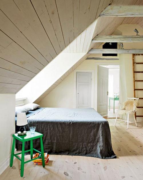 5 slaapkamers op zolder