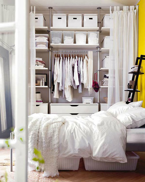 slaapkamer opbergideeën | slaapkamer ideeën, Deco ideeën