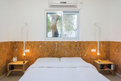 slaapkamer simpele slaapkamer met marokkaanse tegels slaapkamer met