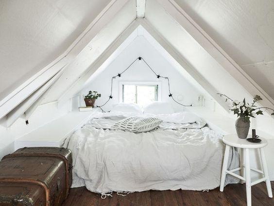 slaapkamer schuin dak cocoon