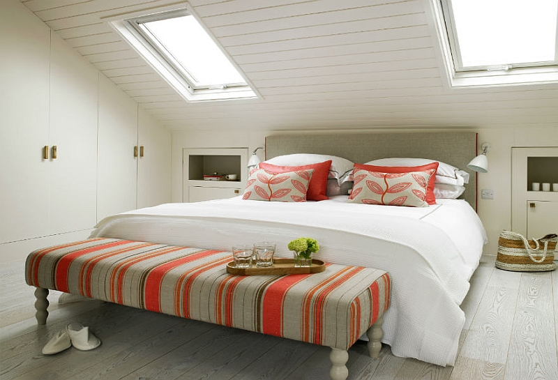 10x Slaapkamer met schuin dak