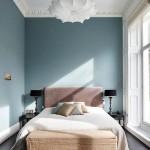 Slaapkamer van statig appartement