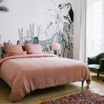 Slaapkamer uit Parijs in een vintage klassieke stijl