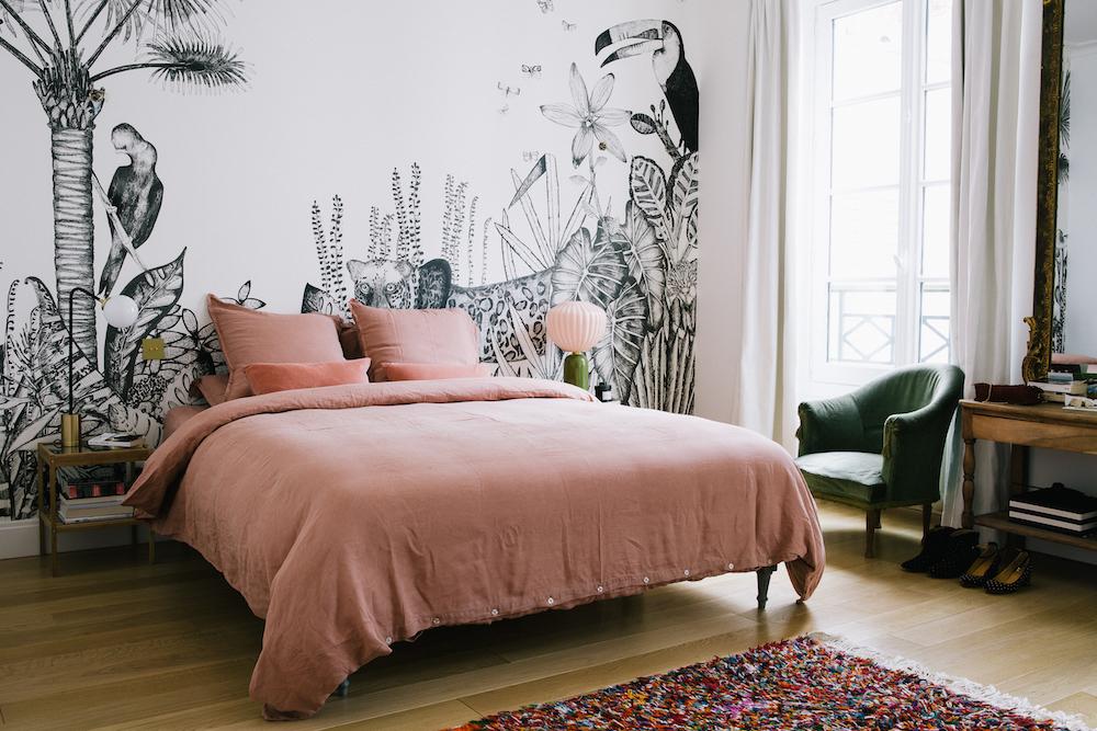 Vintage Slaapkamer Ideeen.Slaapkamer Uit Parijs In Een Vintage Klassieke Stijl Slaapkamer Ideeen