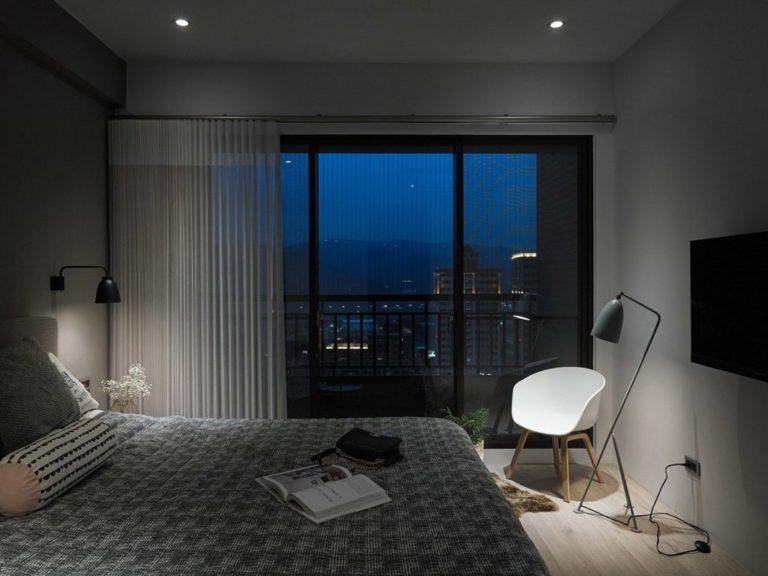 Slaapkamer uit Taiwan in modern Scandinavische stijl