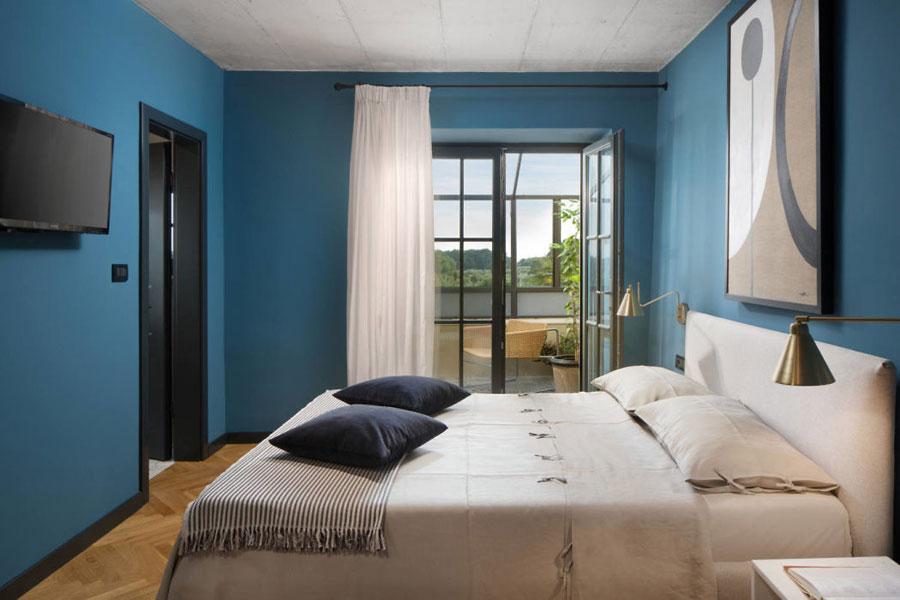 Slaapkamer van een 300 jaar oude villa!
