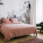 Slaapkamer van Franse Morgane Sézalory.