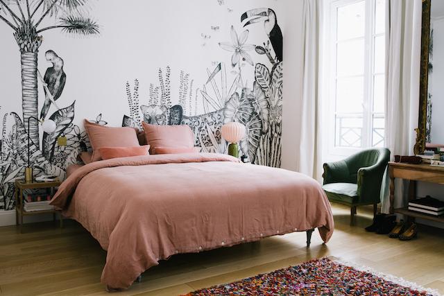 Franse Slaapkamer Meubels : Slaapkamer van franse morgane sézalory slaapkamer ideeën