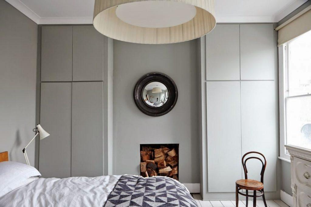 Slaapkamer van Londense Victoriaanse woning