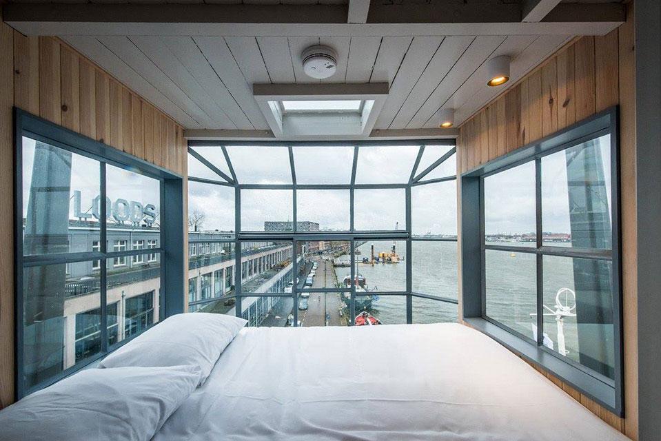 Slaapkamer van The Yays Crane appartement