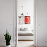 Slaapkamer verbouwing met licht