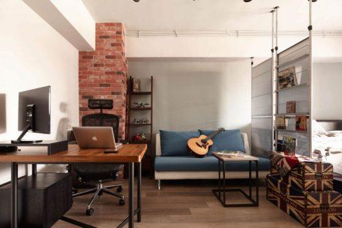 slaapkamer en woonkamer scheiden met roomdividers