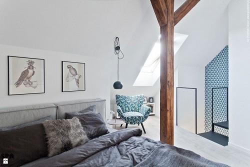 Zolder Gebruiken Als Slaapkamer : Slaapkamer van zolder appartement ...