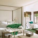 Slaapkamer van zomerhuis in Spanje
