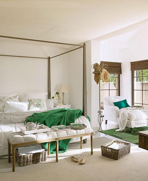 slaapkamer groen bruin : Slaapkamer van zomerhuis in Spanje Slaapkamer ...
