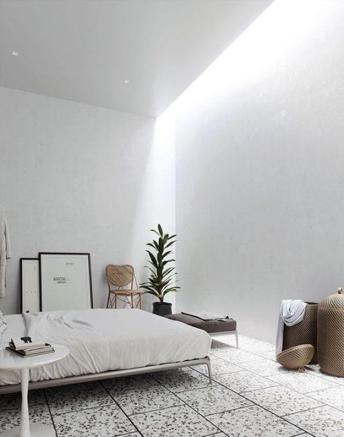 Slaapkamer zonder raam