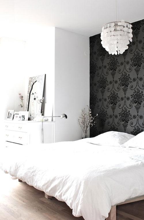 Slaapkamer behang ideeën | Slaapkamer ideeën