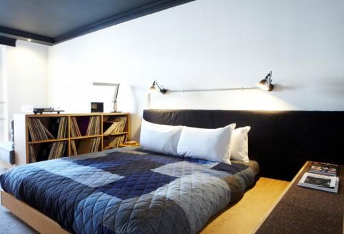 Slaapkamers van Ace Hotel Londen