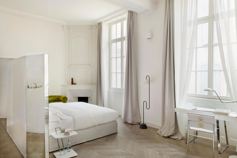 Slaapkamers van hotel De Tourrel uit Frankrijk