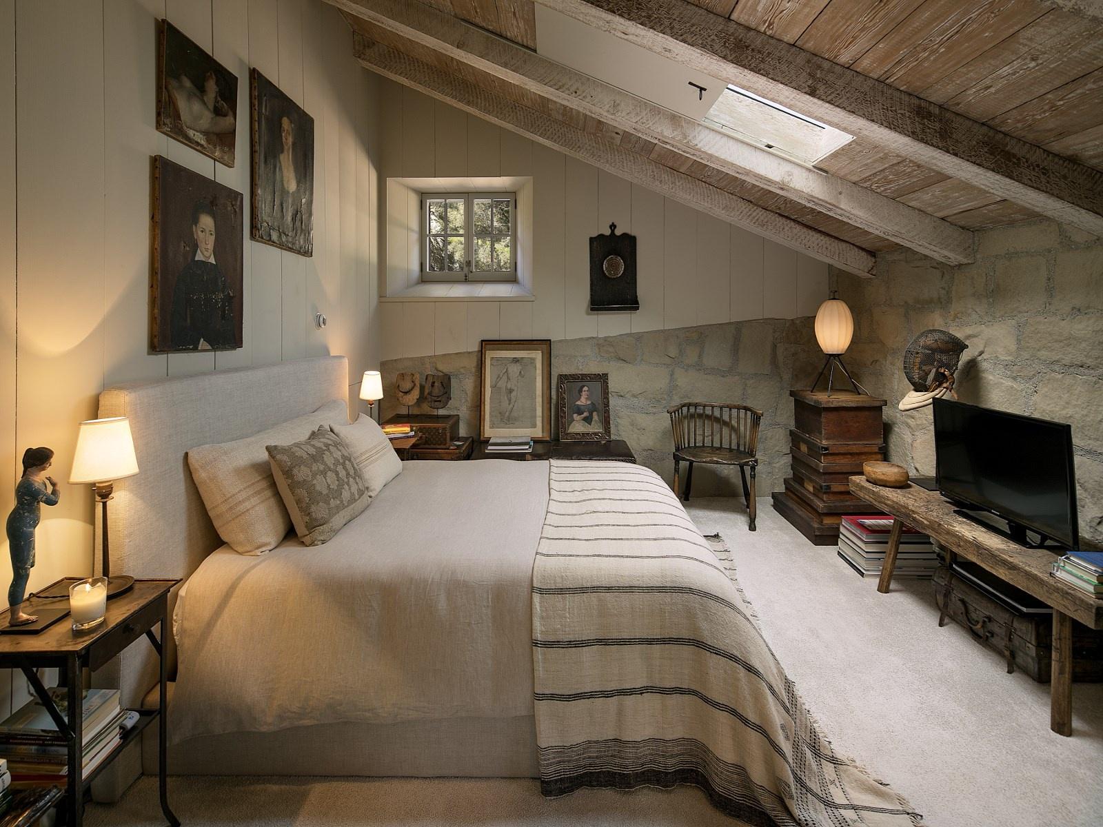 Slaapkamers in Italiaanse rustieke landelijke stijl | Slaapkamer ideeën