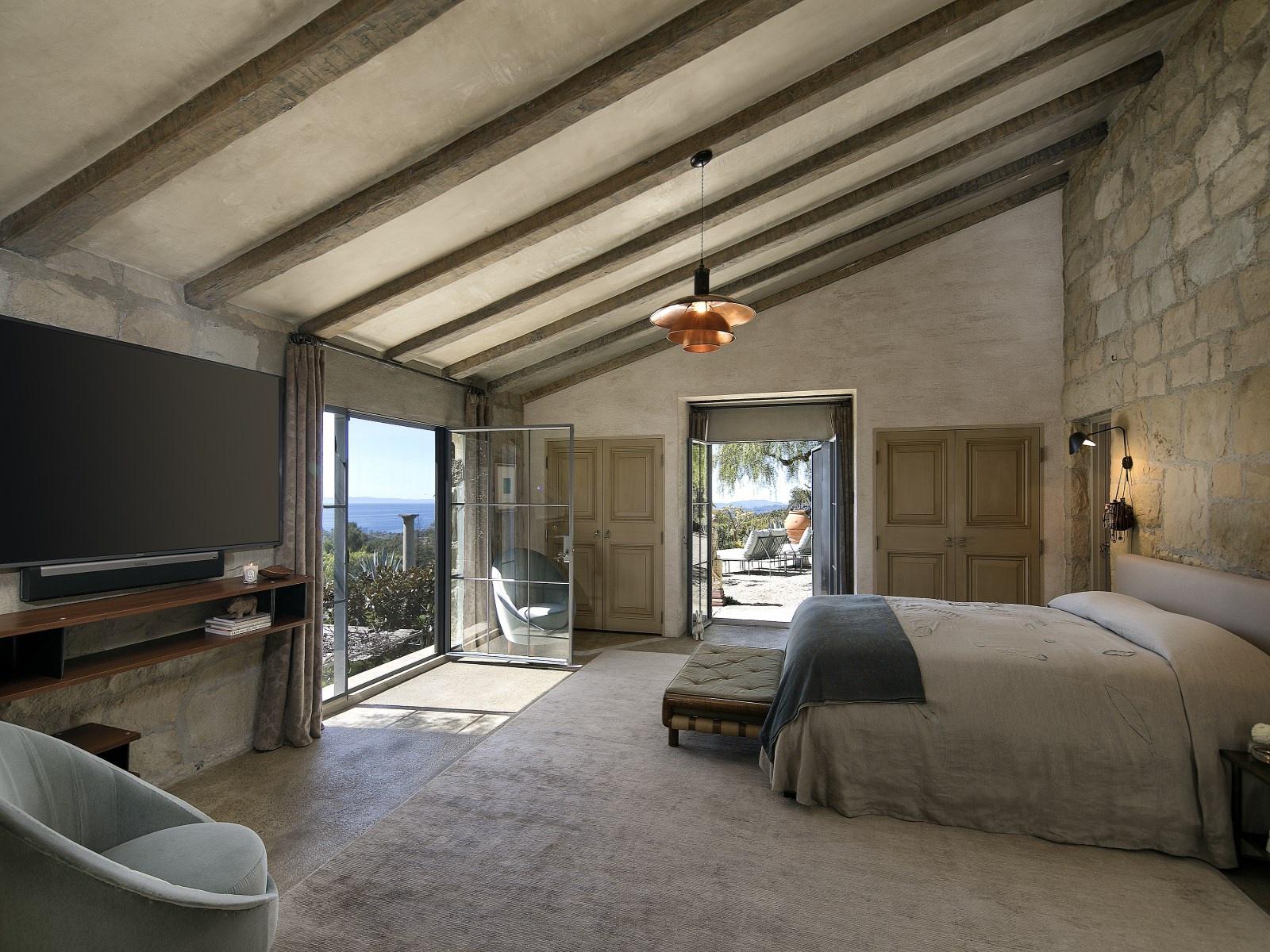Slaapkamers in Italiaanse rustieke landelijke stijl