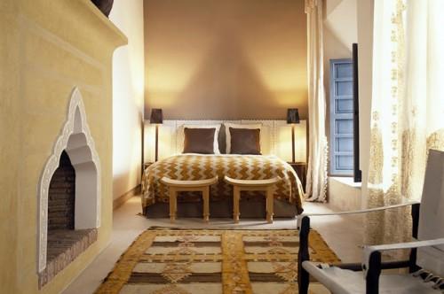 Slaapkamers van Marokkaanse Riad hotel | Slaapkamer ideeën