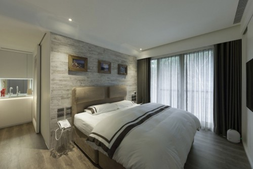 Wat kan behang beteken in de slaapkamer?  Slaapkamer ideeën