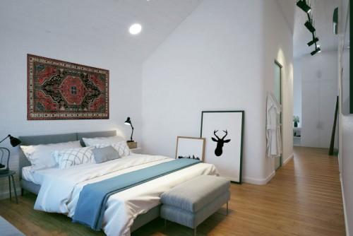 Stijlvol slaapkamer ontwerp door geometrium slaapkamer idee n - Ontwerp van slaapkamers ...