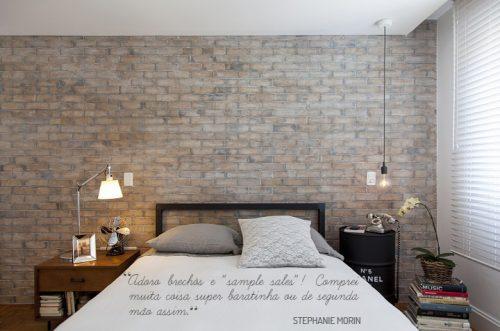 Stoere elementen in de slaapkamer van een advocate