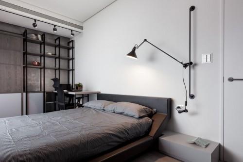 Wit Grijze Slaapkamer : Grijze slaapkamer kast gepimpte scandinavische ...
