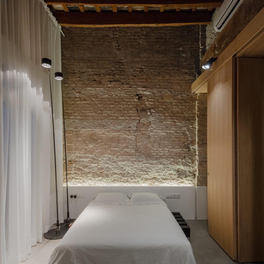 Stoere half open slaapkamer uit Valencia