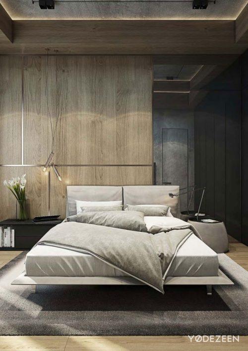 Stoere maar sfeervol warme slaapkamer slaapkamer idee n - Bijvoorbeeld vlak badkamer ...