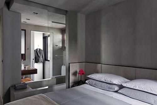 ... stoere slaapkamer : Stoere slaapkamer in Braziliaanse loft Slaapkamer