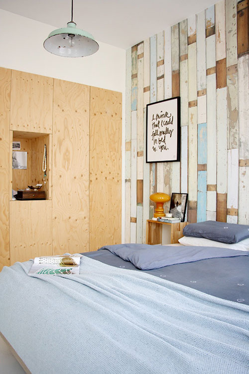 Stoere slaapkamer van Hedda en Michiel