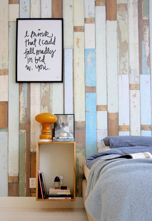 Stoere slaapkamer van Hedda en Michiel  Slaapkamer ideeën