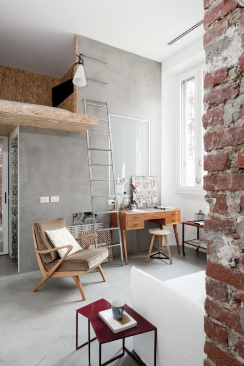 Stoere slaapkamer in vliering  Slaapkamer ideeën