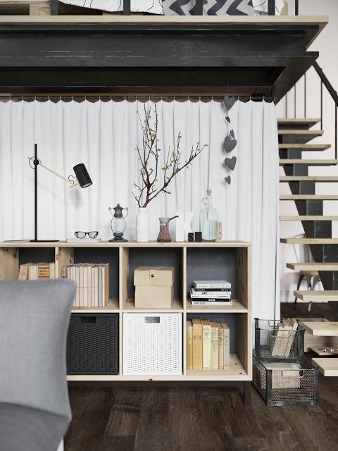 Stoere unieke slaapkamer in miniloft