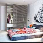 Stoere vrouwelijke slaapkamer