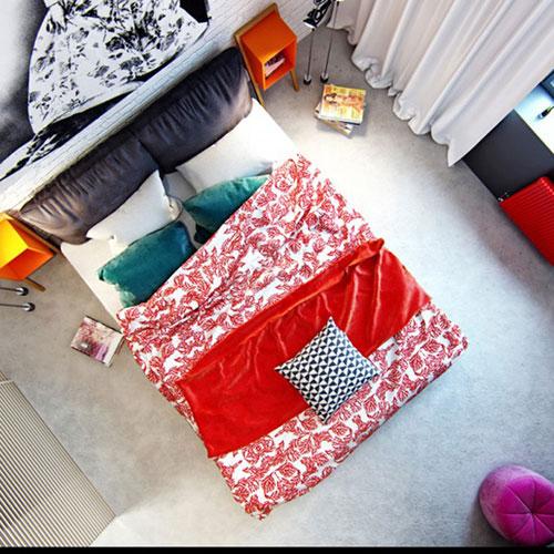 Stoere vrouwelijke slaapkamer  Slaapkamer ideeën