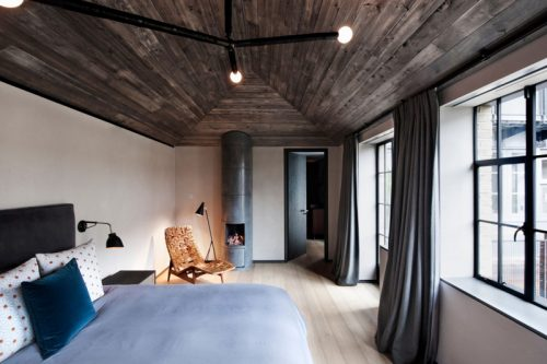 Warme Slaapkamer Ideeen : Stoere warme slaapkamer uit londen slaapkamer ideeën